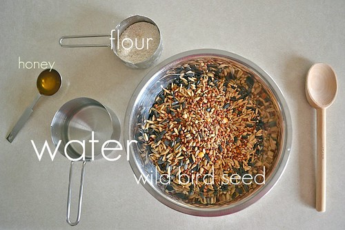 Bird Seed Garland Activity (Photo from How We Montessori)
