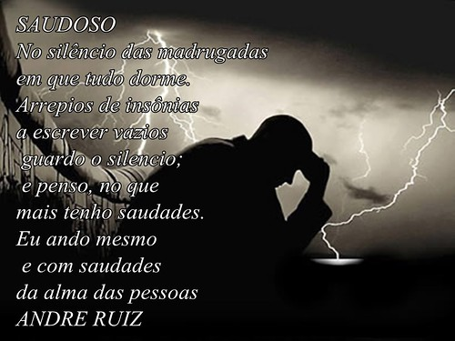 SAUDOSO by amigos do poeta