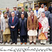 Group photo of Chief Minister Gilgit - Baltistan with GB cabinet members and officials of Aga Khan University's Professional Development Centre North (PDCN)