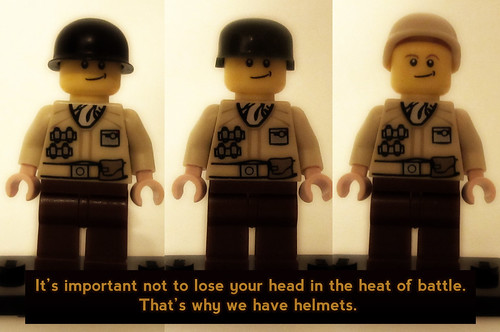 Why do we have helmets?