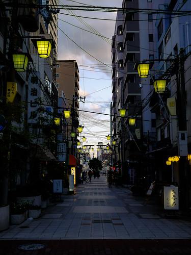 Tenjinbashi Street by hyossie
