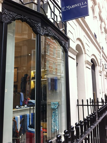 E Marinella London shop