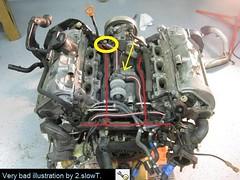 2001 audi a6 2 7t coolant leak rh audizine com Vacuum Hose Diagram 97 Audi A6 2001 Audi 2.7T Diagram Catalytic