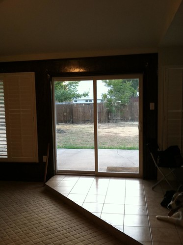 Before, back door/kitchen entry