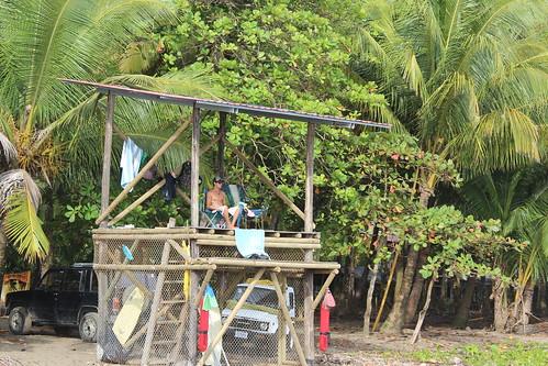 Dominical LifeGuard Shack..