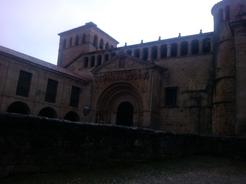 The church in Santillana del Mar by simonharrisbcn