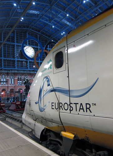 Eurostar 3212  - London St Pancras International by Neil Pulling