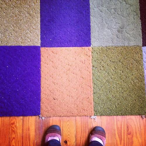 Carpet squares be gone!