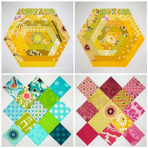 April Bee Blocks