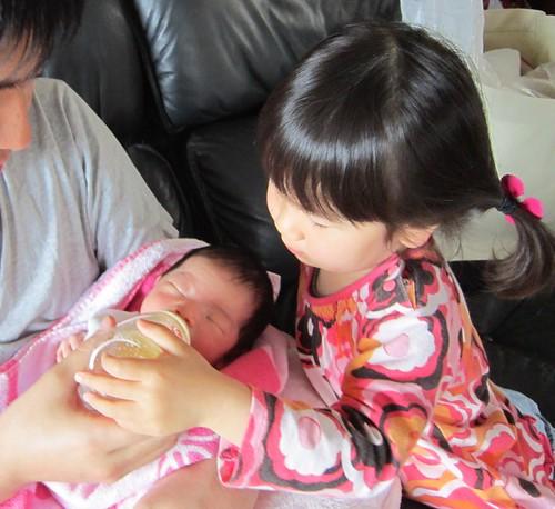 パパと二人の娘達 2012.4.29 by Poran111