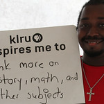 KLRU inspires me to... think more on history, math and other subjects.