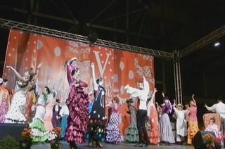 video 04 Gala Clausura Volantes de Compas V Feria Abril Las Palmas de Gran Canaria 2012