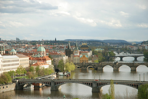 Bridges over Vltava River