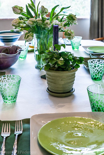 St Paddy's Day Table