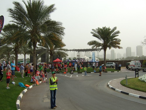Finish Spectator Area