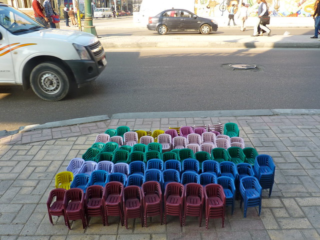 Mini plastic chairs?, Alexandria