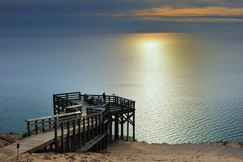 """Lake Michigan Overlook"" Pierce Stocking Scenic Drive - Sleeping Bear Dunes National Lakeshore"