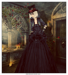 Having a Gothic Wedding? This dress is PERFECT!