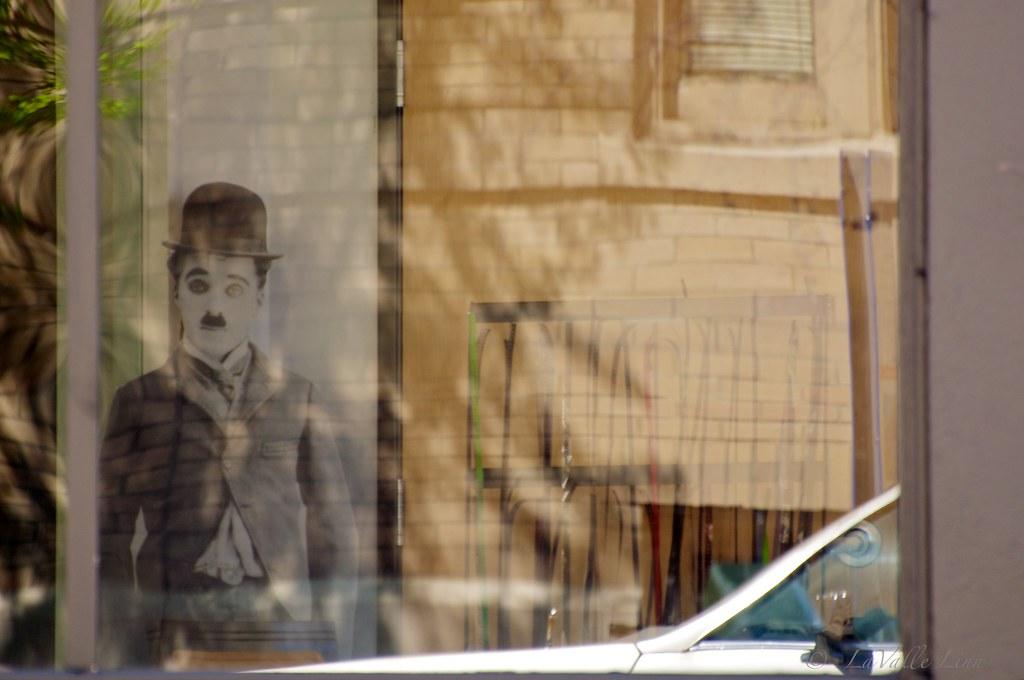 Charlie Chaplin in Portland