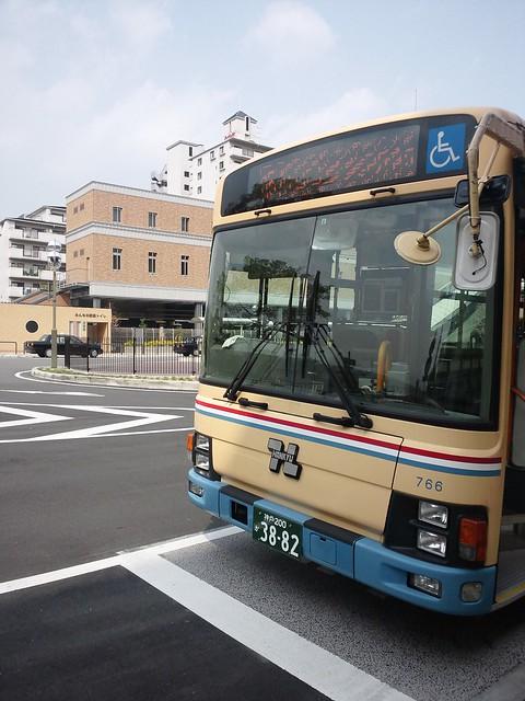 宝塚から阪急バスに乗る