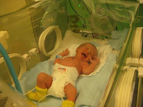 Gabriel Roland 4.96 lbs born 4.23.11 at 10:15pm.
