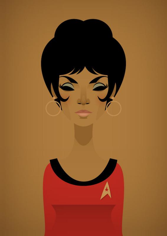 Face da Cultura Pop por Stanley Chow star trek