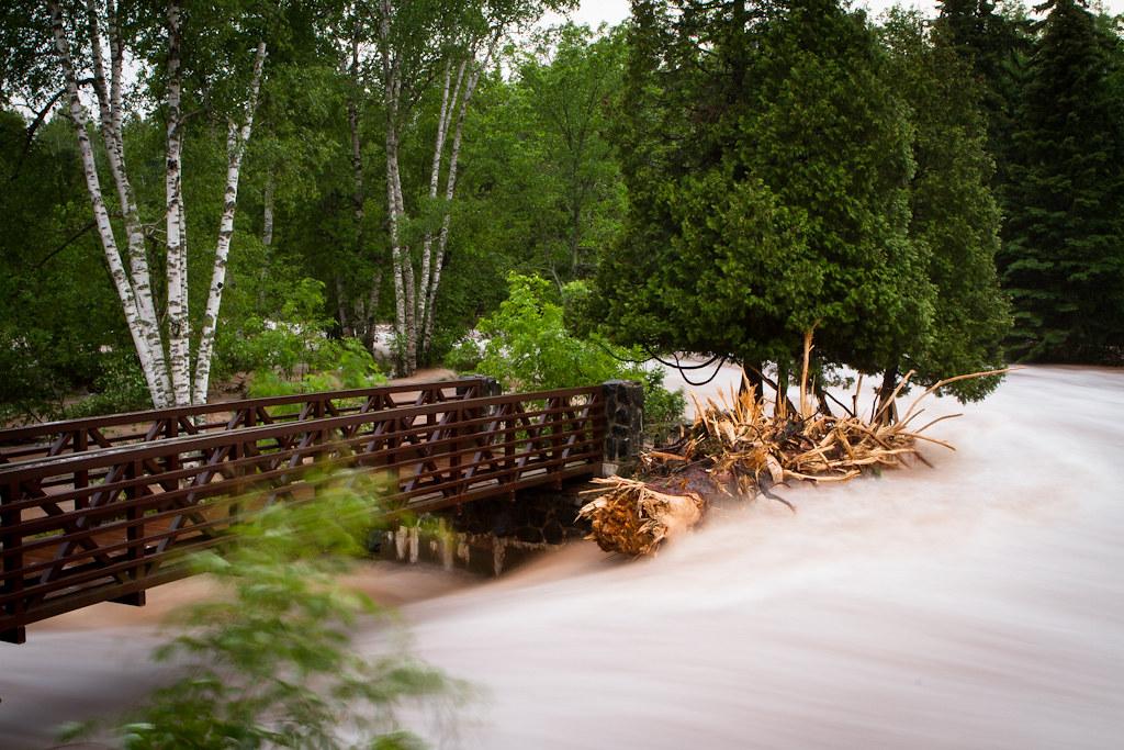 Gooseberry Falls June 2012 Floods - Duluth Floods 2012