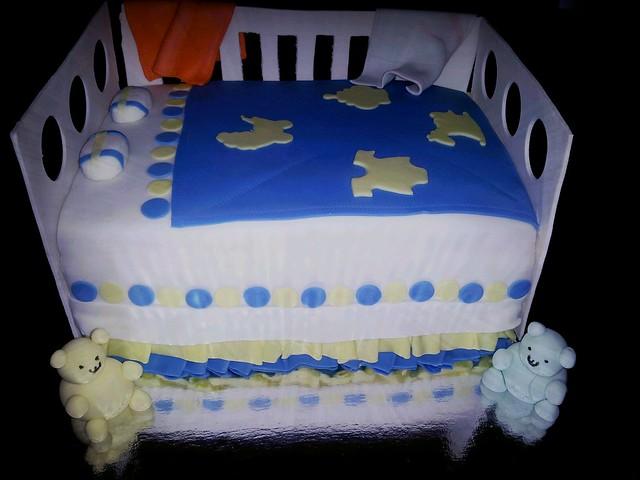 Baby Shower Crib Cake Flickr Photo Sharing