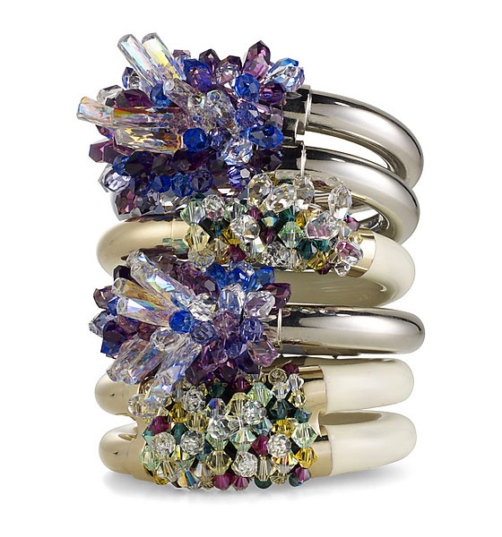 Mary Katrantzou for Atelier Swarovski, image via tooklookbook