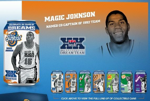 Magic Johnson can