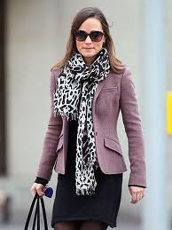 Pippa Middleton Tweed Jacket Celebrity Style Women's Fashion 1