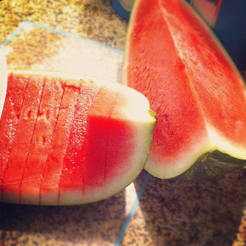 Yum! #foodstagram #watermelon