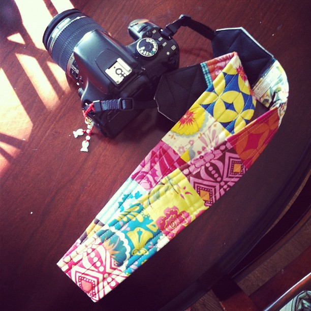 Sew fantastic camera strap