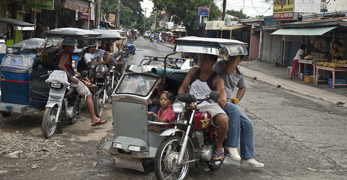 Family on Trike