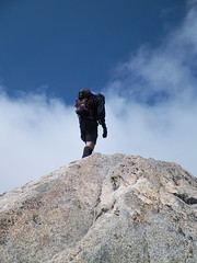 Dane reaches the summit