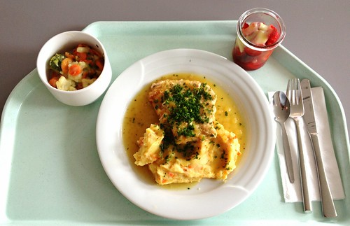 Steak von der Pute in Honig- Pfeffersauce / Turkey steak with honey pepper sauce