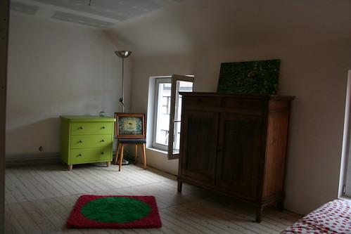 hebt ge meubels over? zet ze in uw nieuwe logeerkamer.