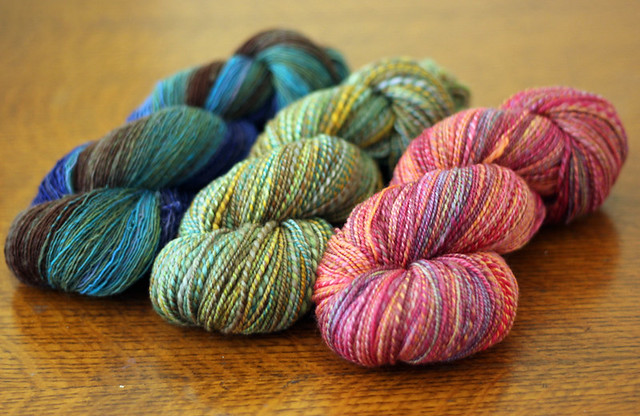 Handspun! Tour de Fleece week 1