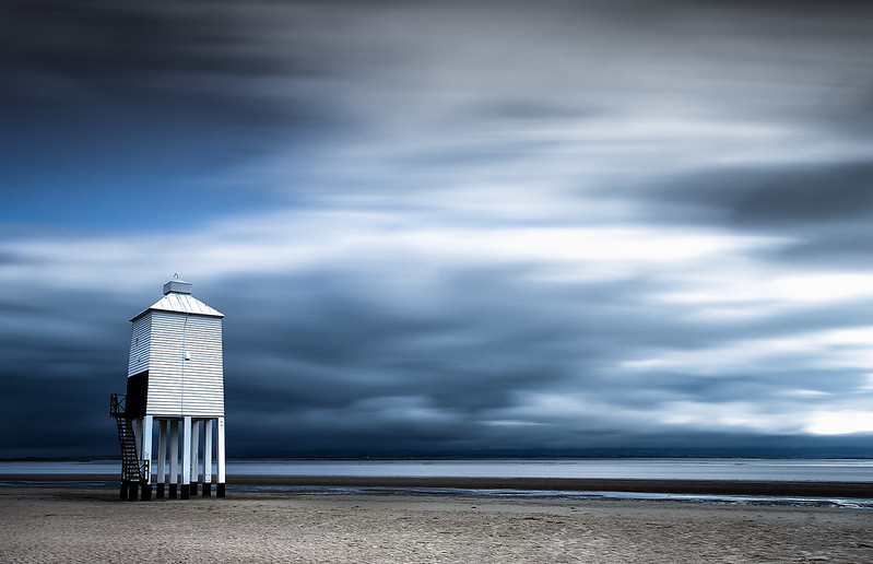 Storm over the lighthouse