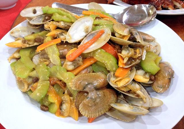 Stir-Fried Clams