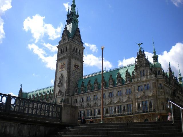 The City Hall (Rathaus), Hamburg