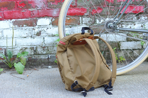 Cycling with Backpack