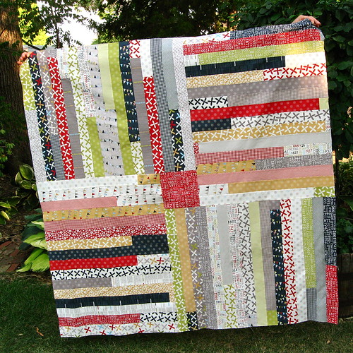 Quirky Granola Girl Four Corners Quilt Tutorial