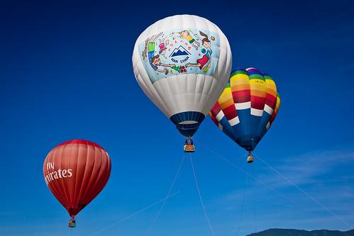 台東熱氣球嘉年華繫留體驗