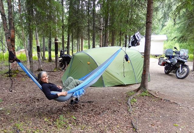 sara hammock at Chena