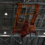 Ceiling crane for practicing docking procedures