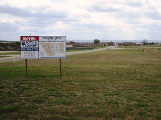 sprawling subdivision near Fredericksburg, TX (c2012 FK Benfield)
