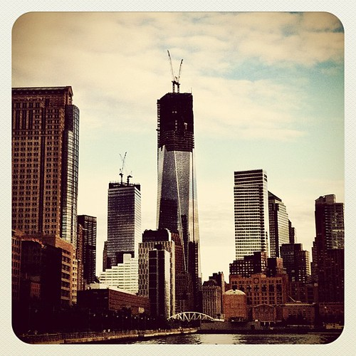 Freedom Tower #newyork #NYC #downtown #skyscrapers