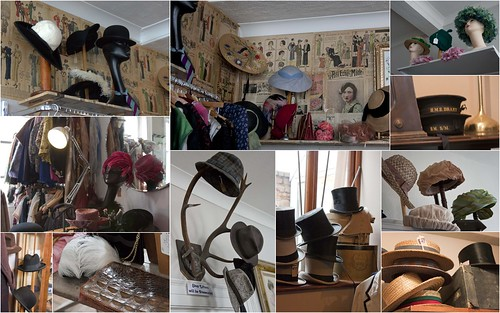 Vintage hats in Ludlow
