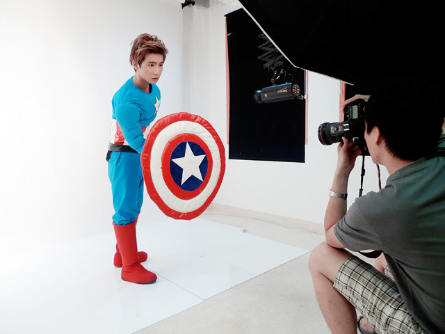 typicalben captain america photoshoot 2